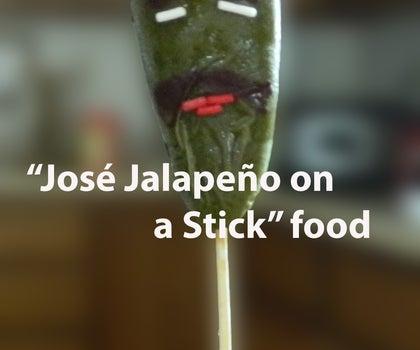 """Jose Jalapeno on a Stick"" Food"