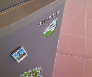 Adding a Simple Lock to a Refrigerator
