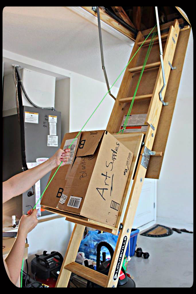 Diy Attic Storage Assistance 9 Steps With Pictures Instructables