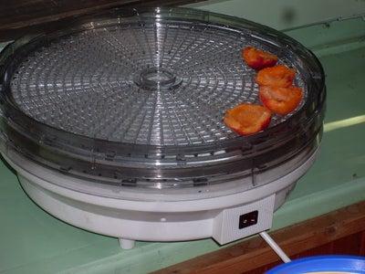 Dehydrating Peaches