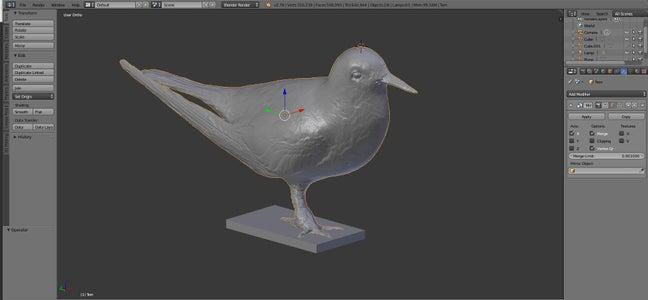 Modellieren Und Drucken Des 3D-Modells