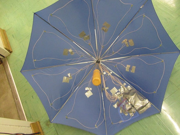 Pressure Activated Light-Up Umbrella