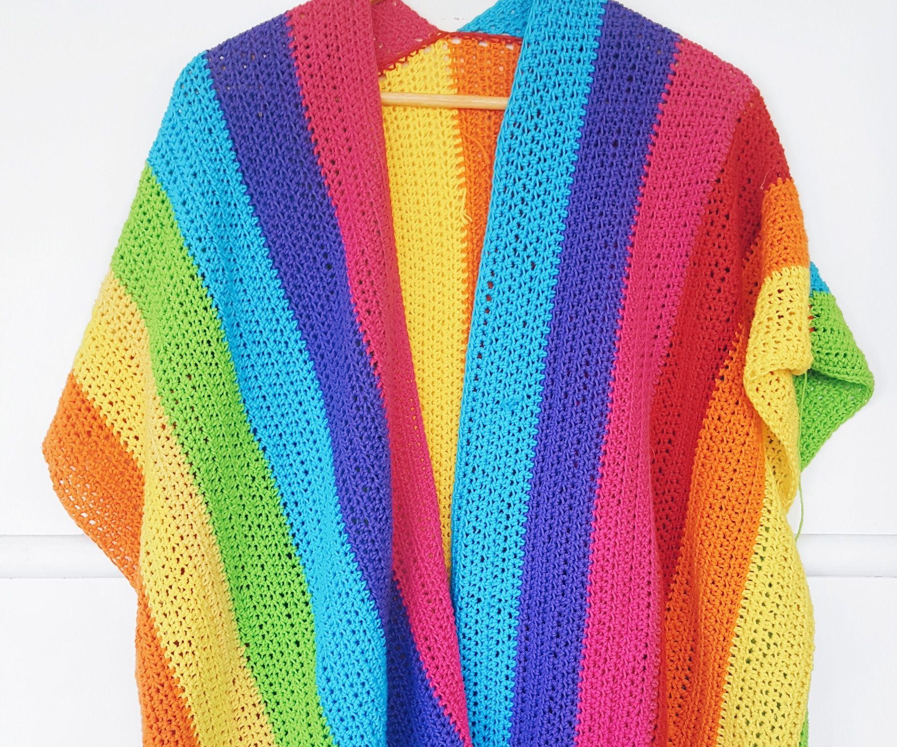 Rainbow Cardigan