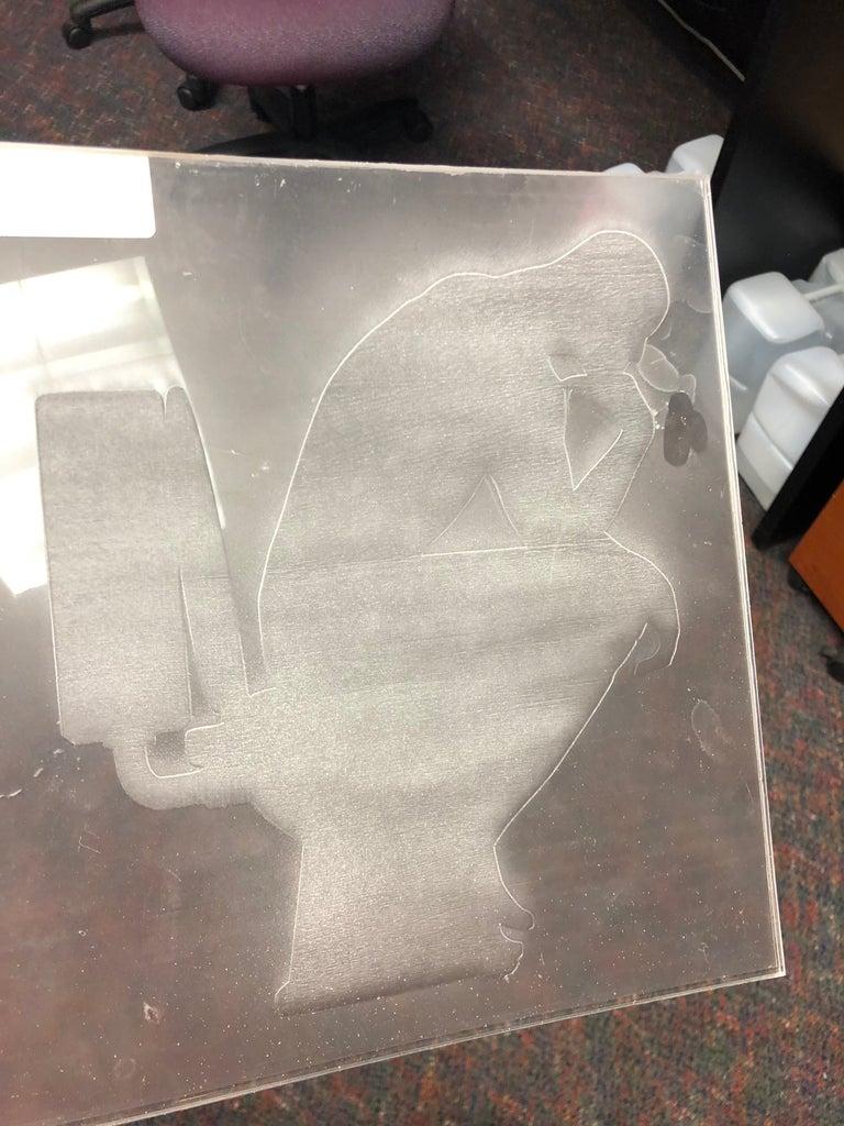Engraving the Acrylic Sheet