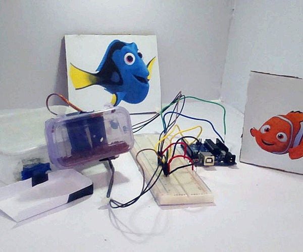 Automatic Fish Food Feeder Using Arduino Uno