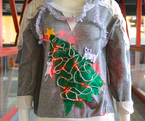 The Cat Lady Ugly Christmas Sweater