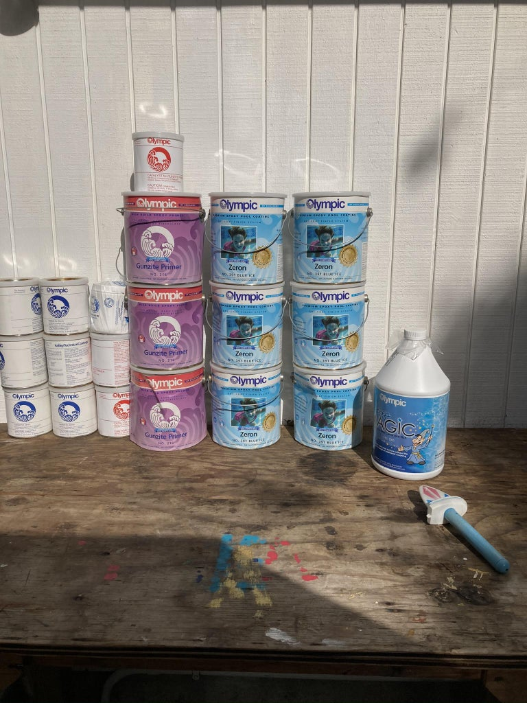 How to DIY Paint Your Pool, Pond or Spa: a Long-lasting Cost Effective Alternative to Replastering.