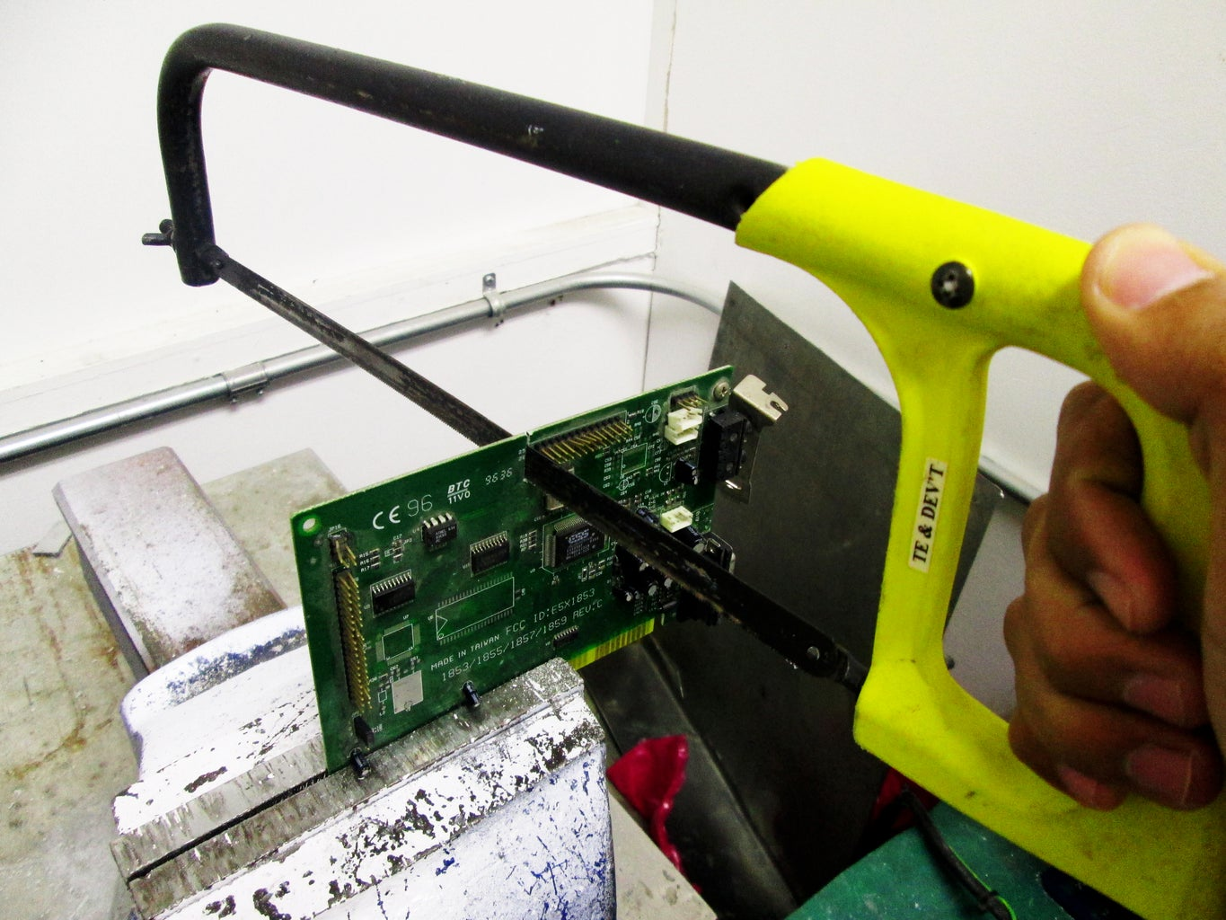 Mark and Cut the PCB