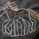 Viking Embroidery: Sleipnir