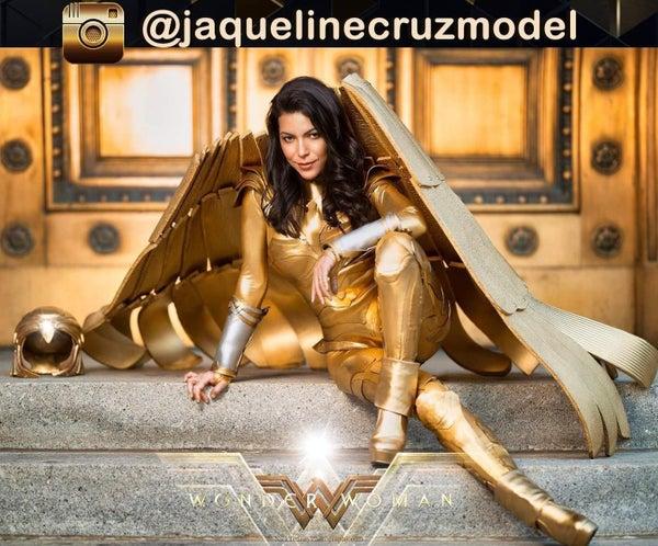 Wonder Woman 1984 Golden Armor Complete Costume