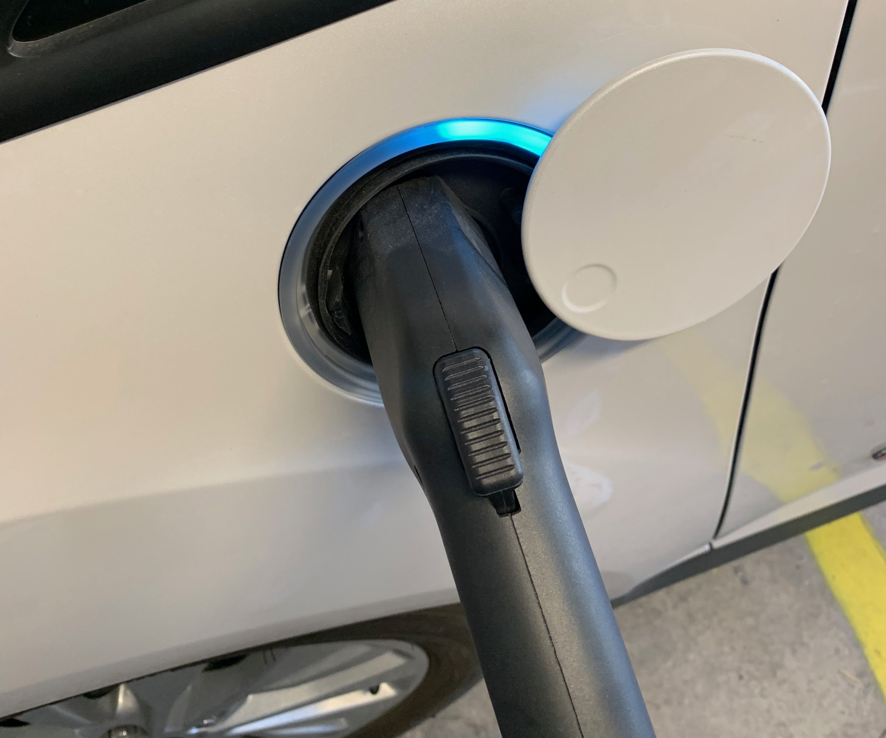 Dock for EV Charging Station - a 5 Minute Instructable