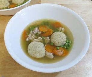 Matzo Ball Soup - Gluten Free!