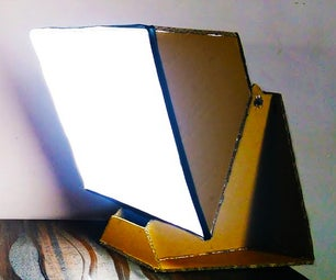 DIY LED SOFTBOX Stand for Product Photography