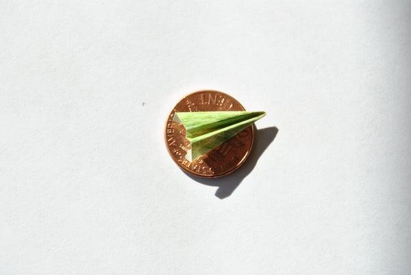 Pocket Sized Super Mini Paper Airplane
