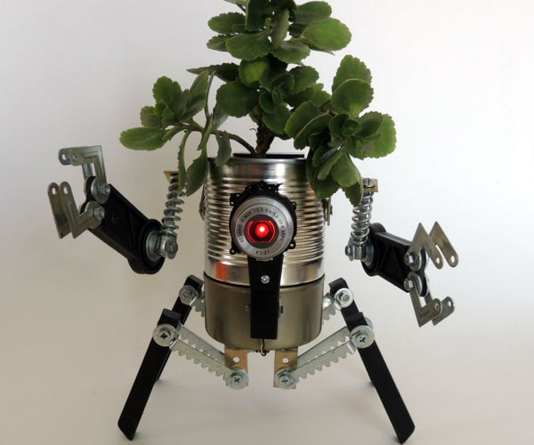 Ultimate Robo-Planter (with Light and Detachable Anti-spill Module)