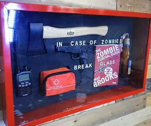 Emergency Zombie Apocalypse Survival Cabinet