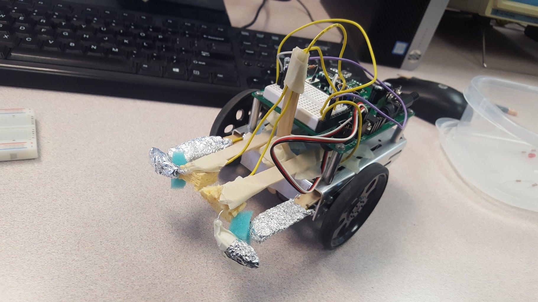 Maze Solving Robot - Uv Bot