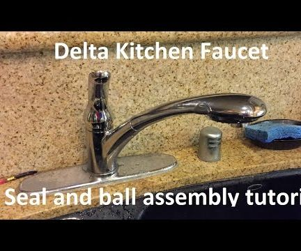 Tutorial: Delta Kitchen Faucet Seal and Ball Assembly Replacement
