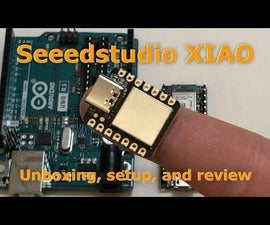 How to Get Started With the Seeedstudio XIAO