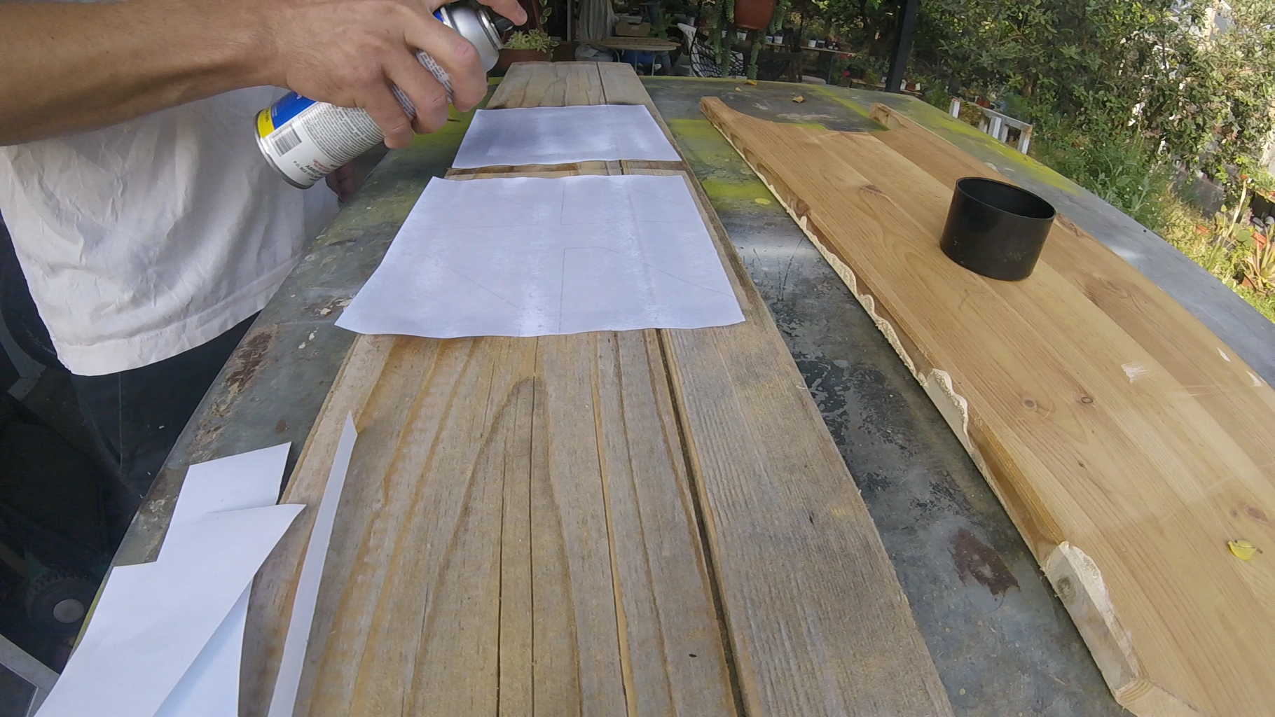 Transfer Shape to Wood