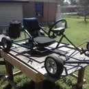 Homemade go kart