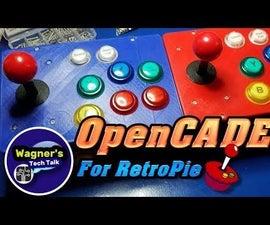 OpenCADE Modular Retro ARCADE Console (3D Printed)