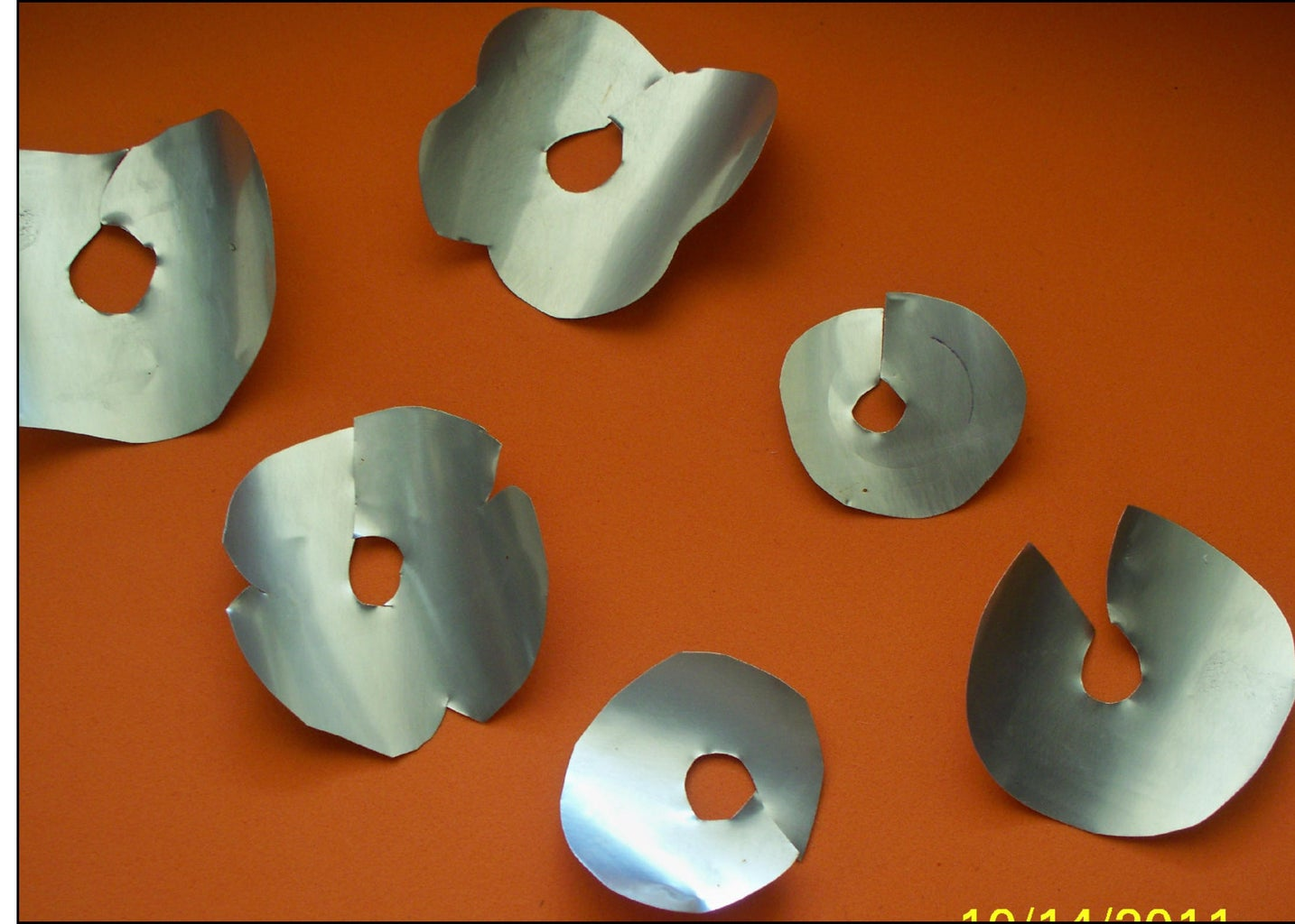 Cut Tin* Into Shapes Wanted