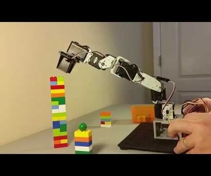 Build a 5-Axis Robot Arm With Arduino and DynamixShield