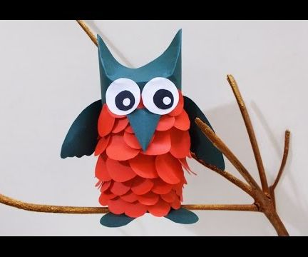 Crafts Ideas for Kids : Learn Owl Crafts for Kids
