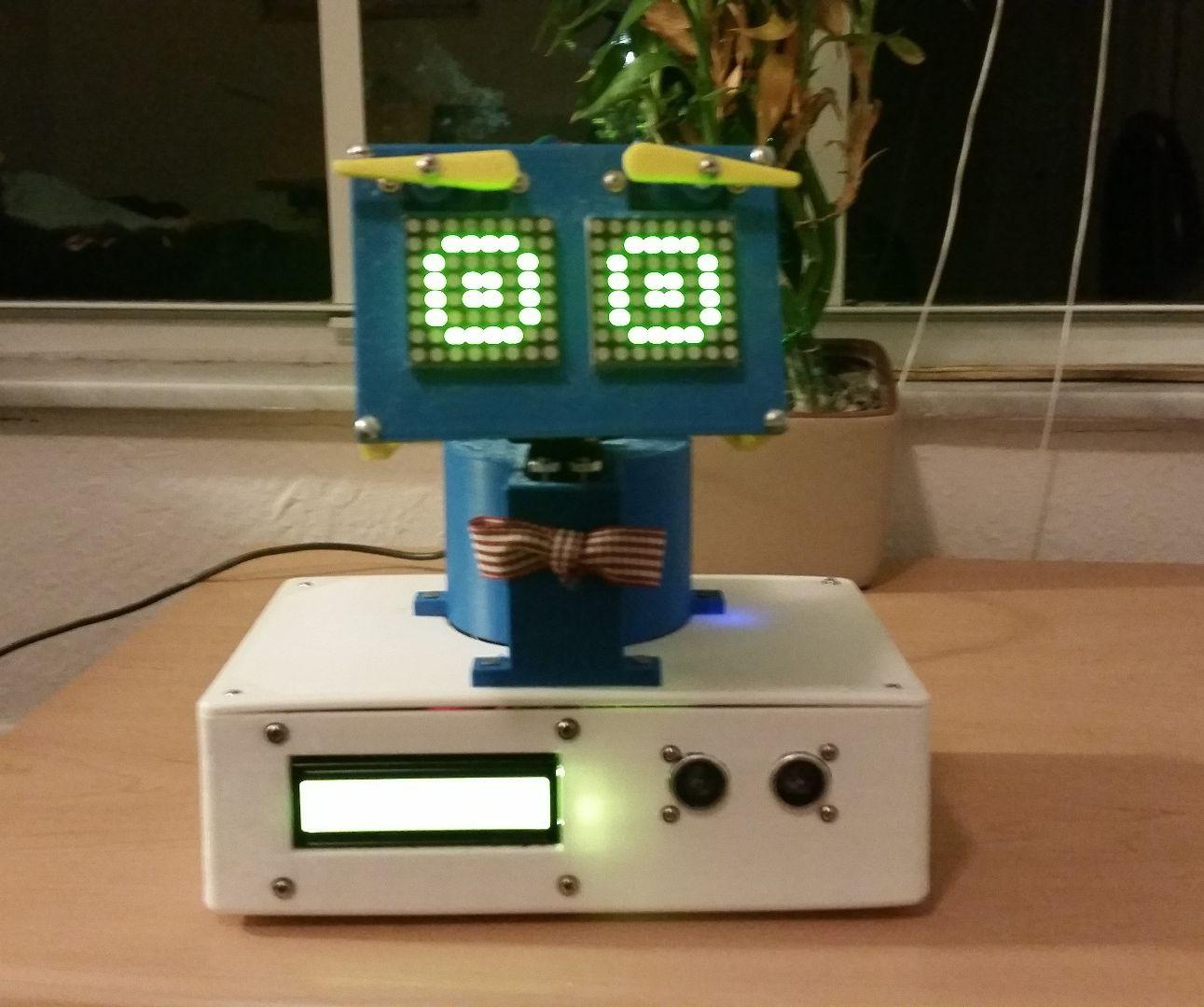 Brobot: The Emotionally Responsive Robot