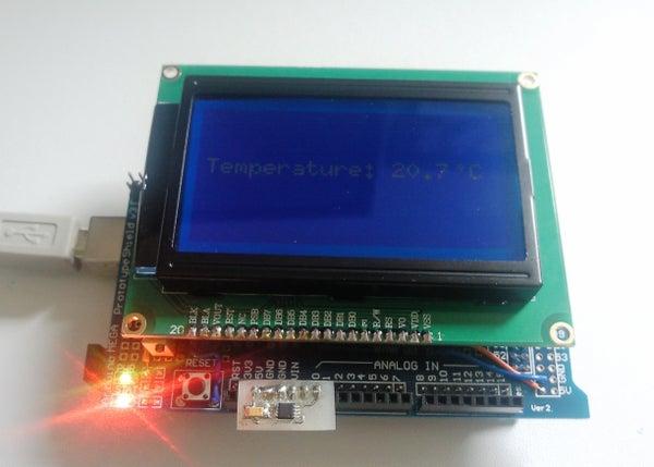 DIY Arduino Temperature Sensor