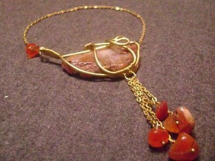 Bezeled Gemstone Pendant