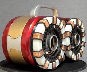 Bluetooth Speaker With Ironman Design