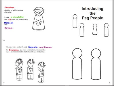 Personalize Pages 12 and 16