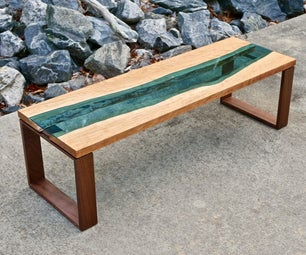 Live Edge River Coffee Table | How to Build