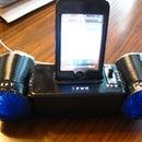 The iPwn. (homemade ipod dock)