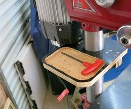 Drill Press Little Helper Shelf