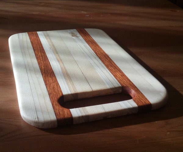 Simple Cutting Board From Pieces of Scrap.
