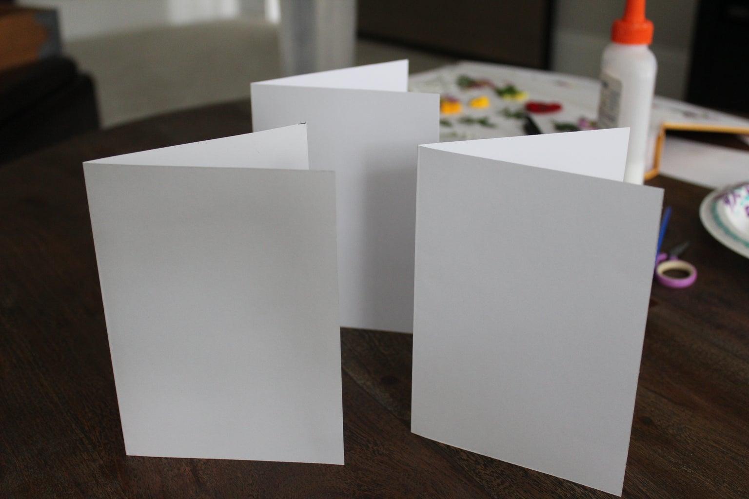 Preparing the Card Base