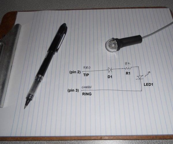 Telephone Ringer Visual Alert (LED)