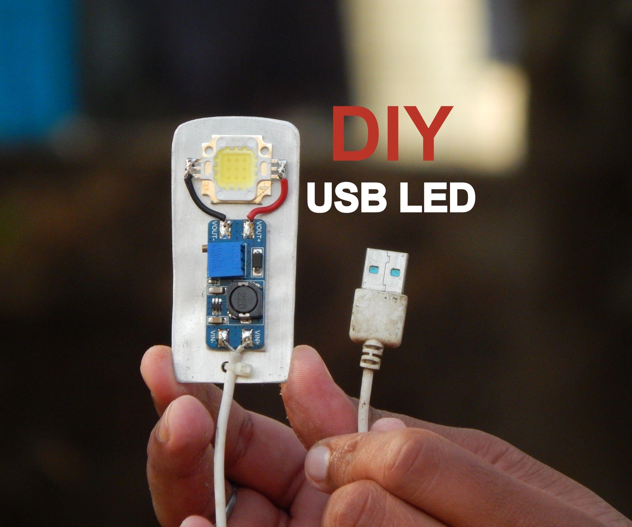 DIY Extreme Bright USB LED | LifeHack