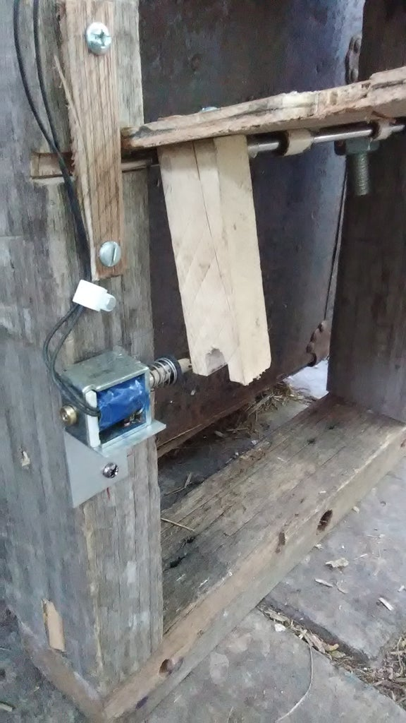Lock Solenoid and Door-open Support