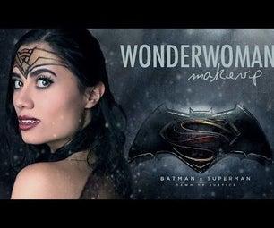 WONDER WOMAN MAKEUP (Batman Vs. Superman)