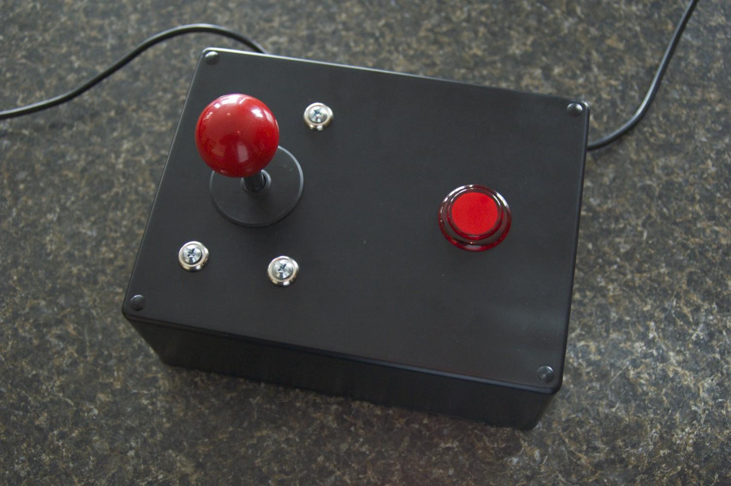Make Your Own Atari Joystick