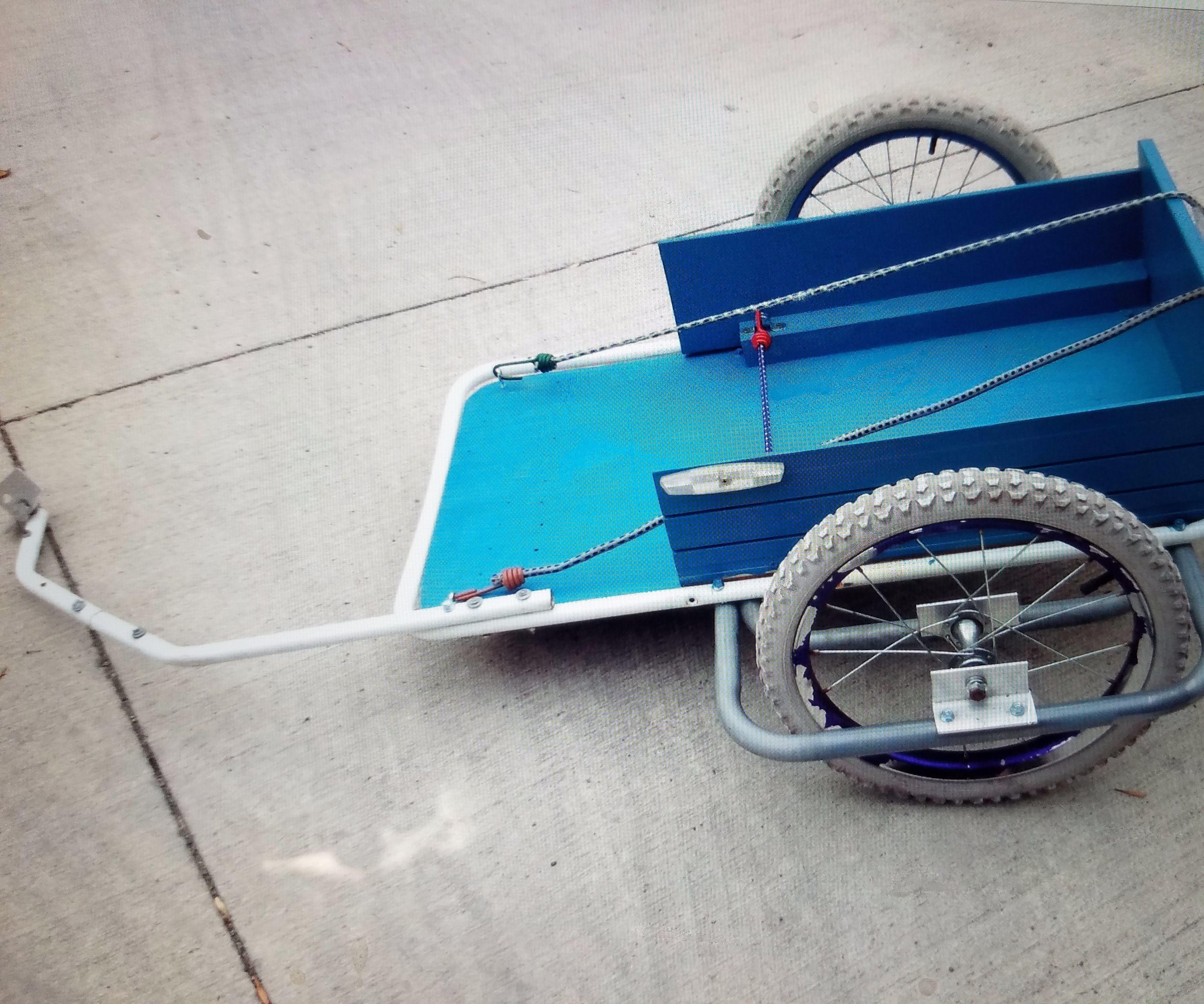 Kids Cargo Bike Trailer