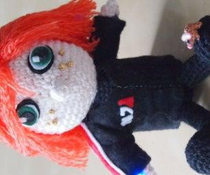 Mass Effect Crochet: Commander Shepard