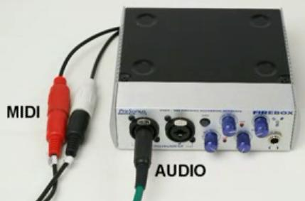 MIDI and Sound Connections