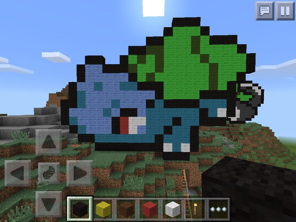 Minecraft How To S Pokemon Sprites Pixel Art 6 Steps Instructables