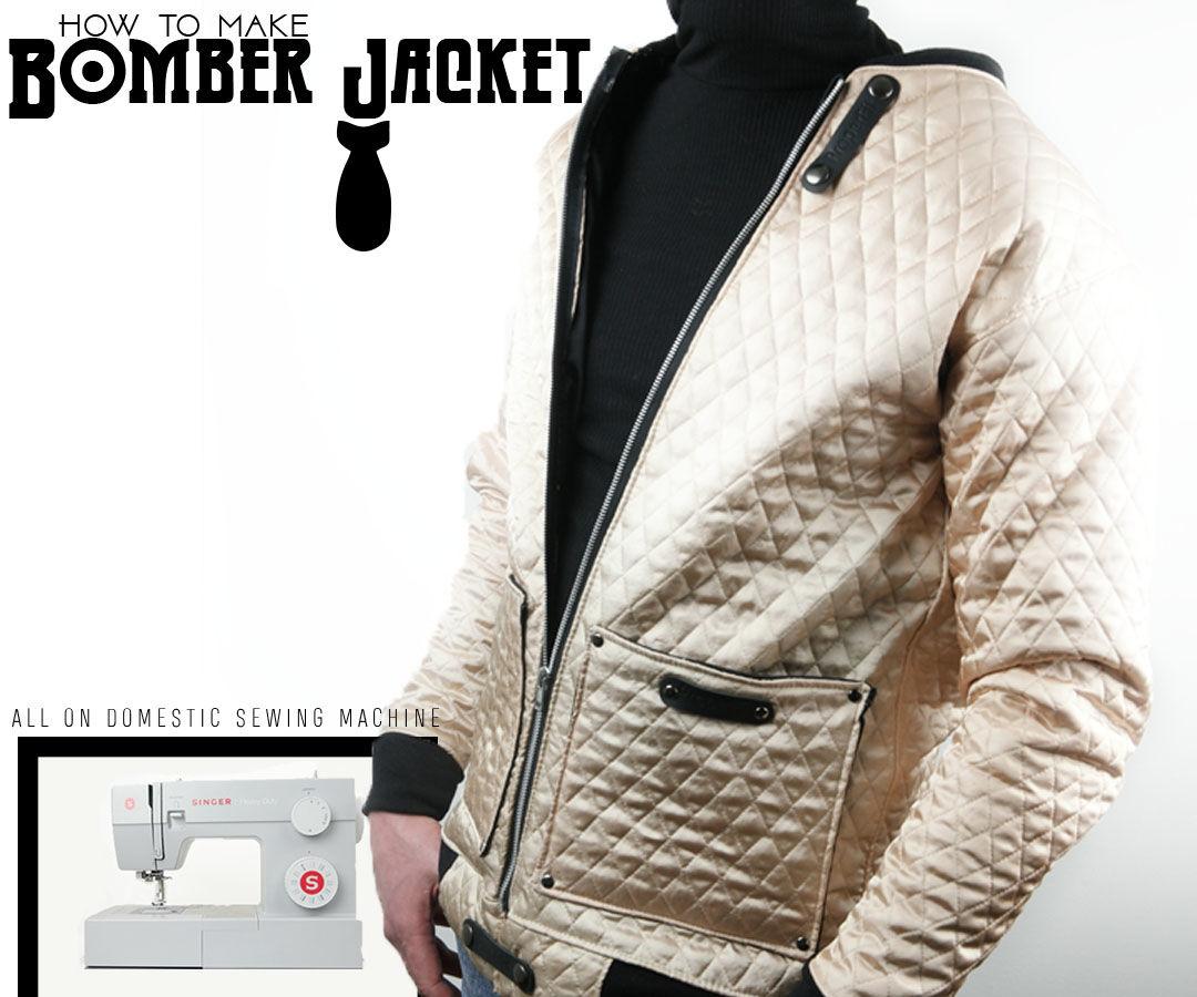How to Make Bomber Jacket