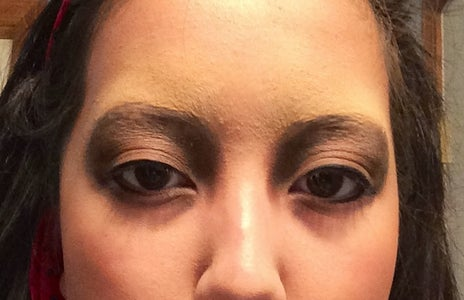 Apply Shadow to Your Eyes! Plus Eye Liner and Mascara...